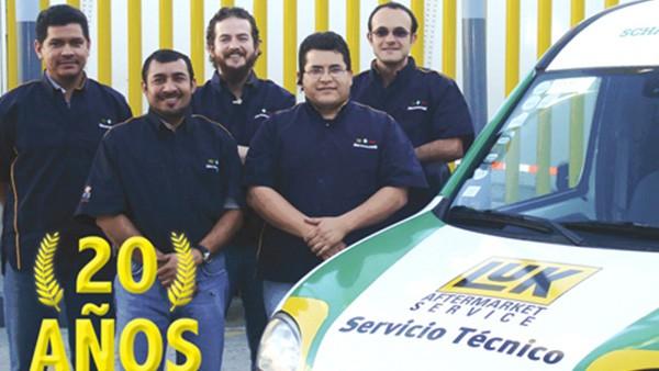 El Servicio Técnico de LuK Aftermarket Service cumple 20 años.