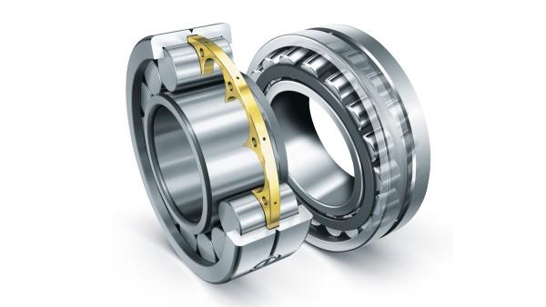 Los rodamientos de rodillos cilíndricos y los rodamientos oscilantes de rodillos de Schaeffler cumplen los requisitos extremos de los equipos de construcción.