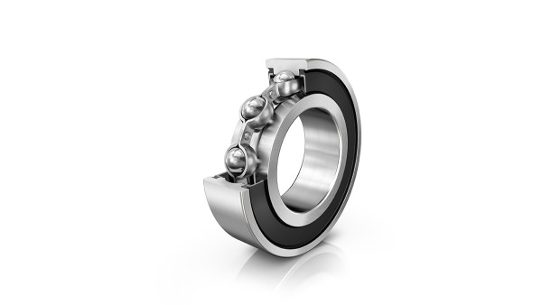 Deep groove ball bearings for the food industry