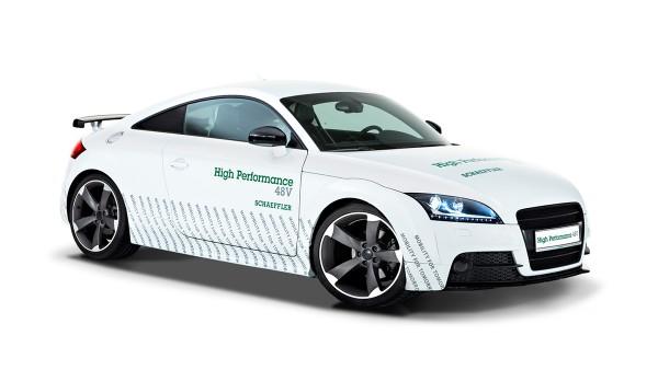 Vehículo conceptual Schaeffler High Performance 48V