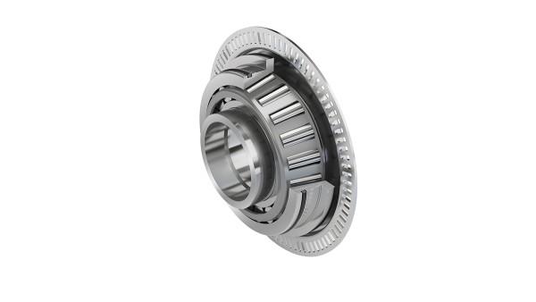 Rodamientos de rodillos cónicos con rueda polar