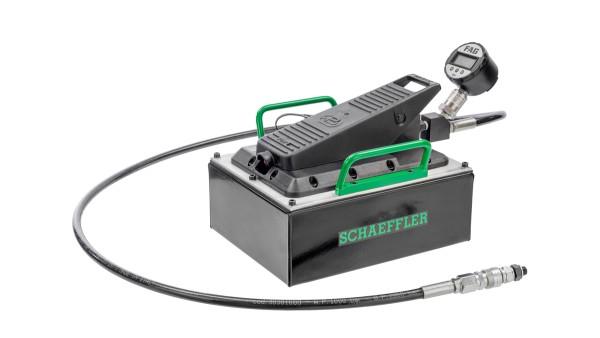 El programa Schaeffler Mounting Manager es sencillo de utilizar y contribuye a asegurar el correcto montaje de rodamientos con agujero cónico.