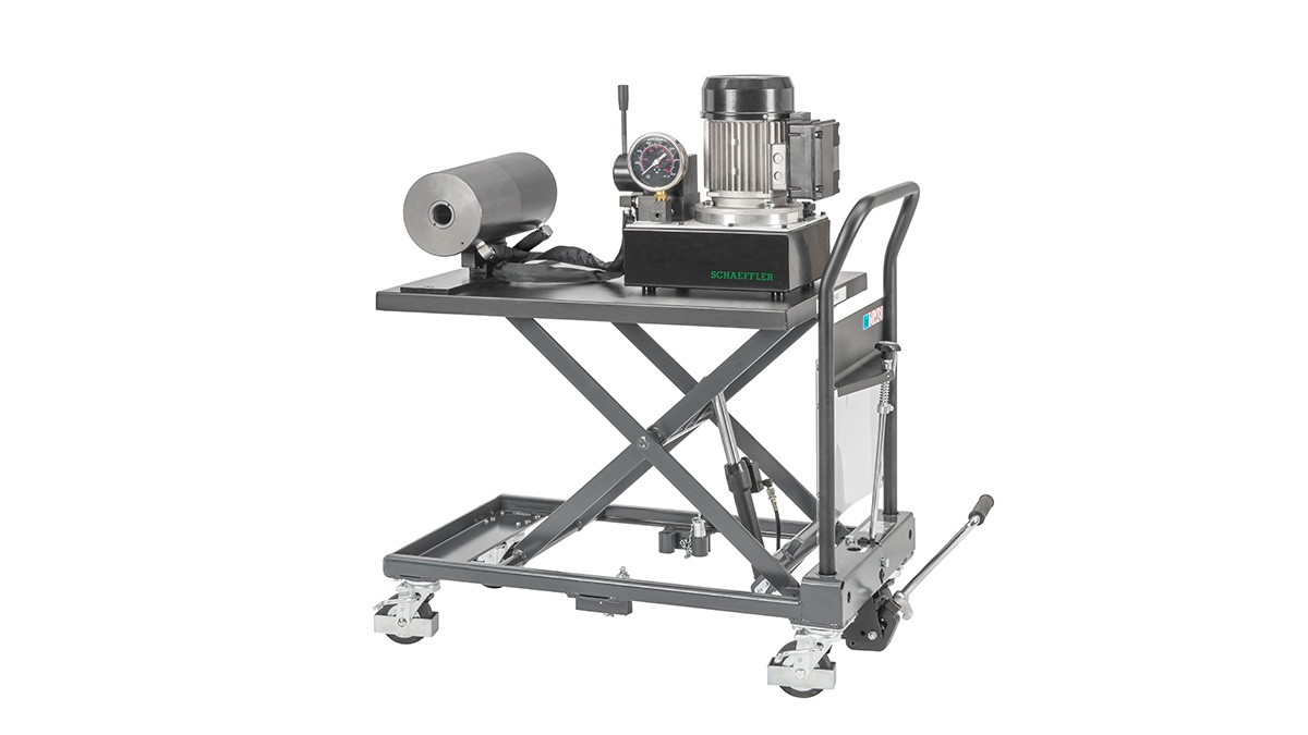 Productos de mantenimiento Schaeffler: Unidad hidráulica móvil