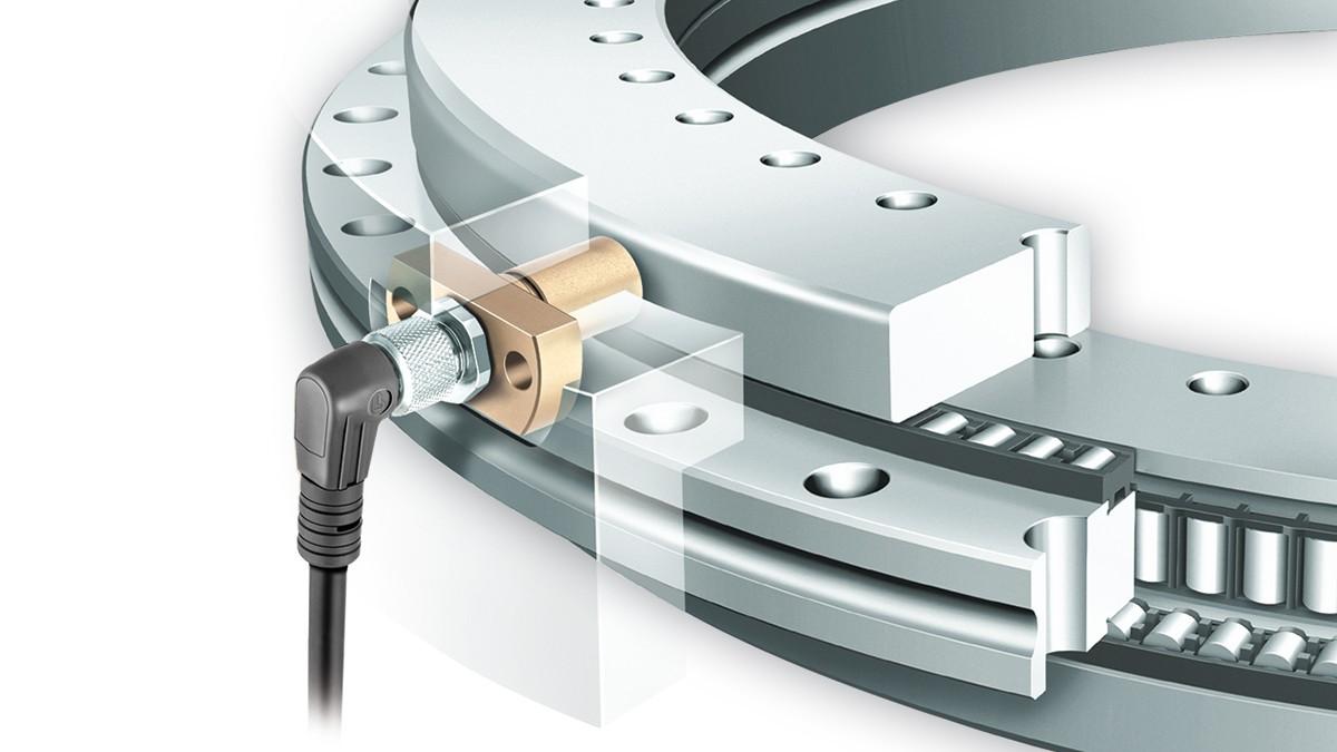 Rodamientos YRTCM/YRTSM con sistema de medición integrado