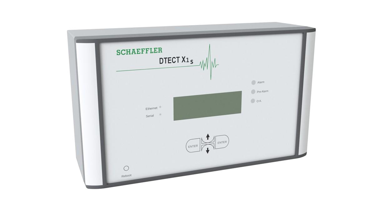 DTECTX1s es un sistema de monitorización online flexible que sirve para monitorizar los componentes rotativos en máquinas y equipos.