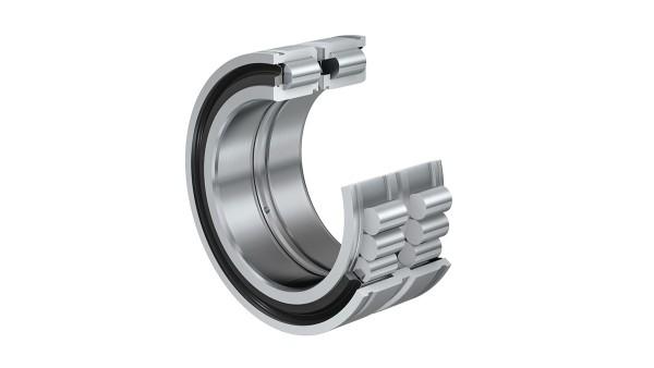 Rodamientos y casquillos de fricción Schaeffler: Rodamientos de rodillos cilíndricos sin jaula con ranuras en el anillo exterior