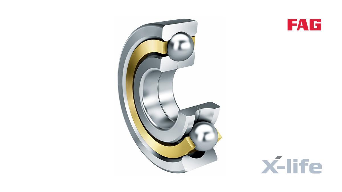 Rodamientos y casquillos de fricción Schaeffler: Rodamientos con cuatro puntos de contacto