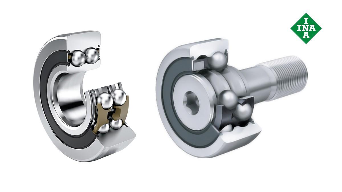 Rodamientos y casquillos de fricción Schaeffler: Rodillos-guía, rodillos de apoyo y rodillos de levas