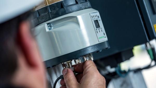El lubricador Concept8 suministra de forma precisa la cantidad correcta de lubricante hasta a ocho puntos de lubricación.