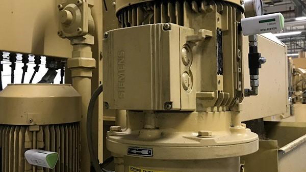 Monitorización de los motores de las fresadoras