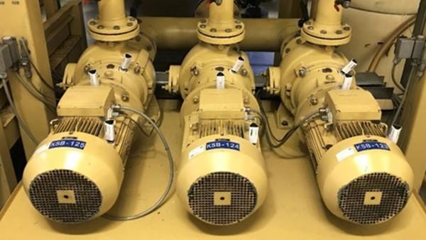 Monitorización de los motores de los sistemas centrales de suministro
